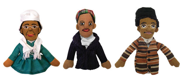 Finger puppets of some of the most badass females that have ever lived.