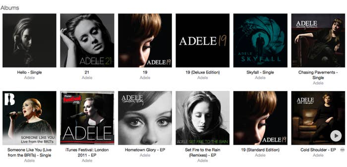You Aren't Able To Listen To Adele's