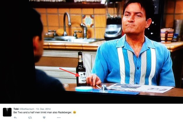 Radeberger Two And A Half Men