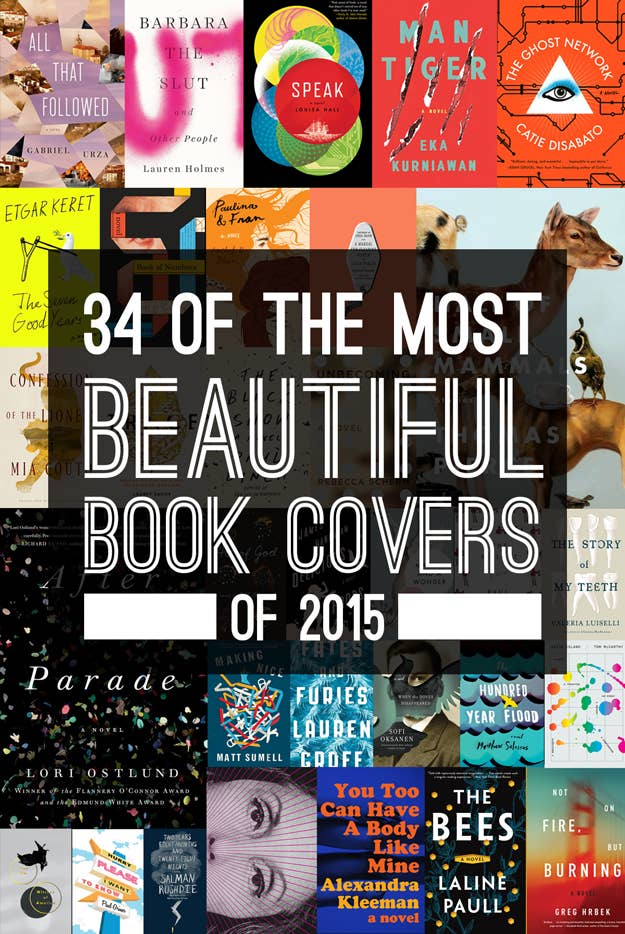 34 Of The Most Beautiful Book Covers 2015