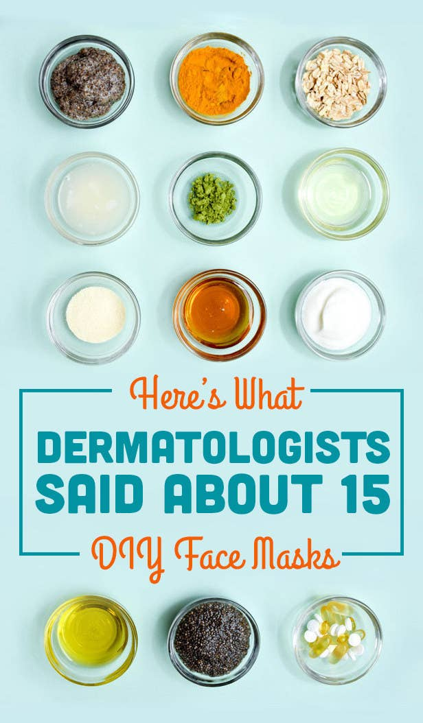Here S What Dermatologists Said About Those Diy Pinterest