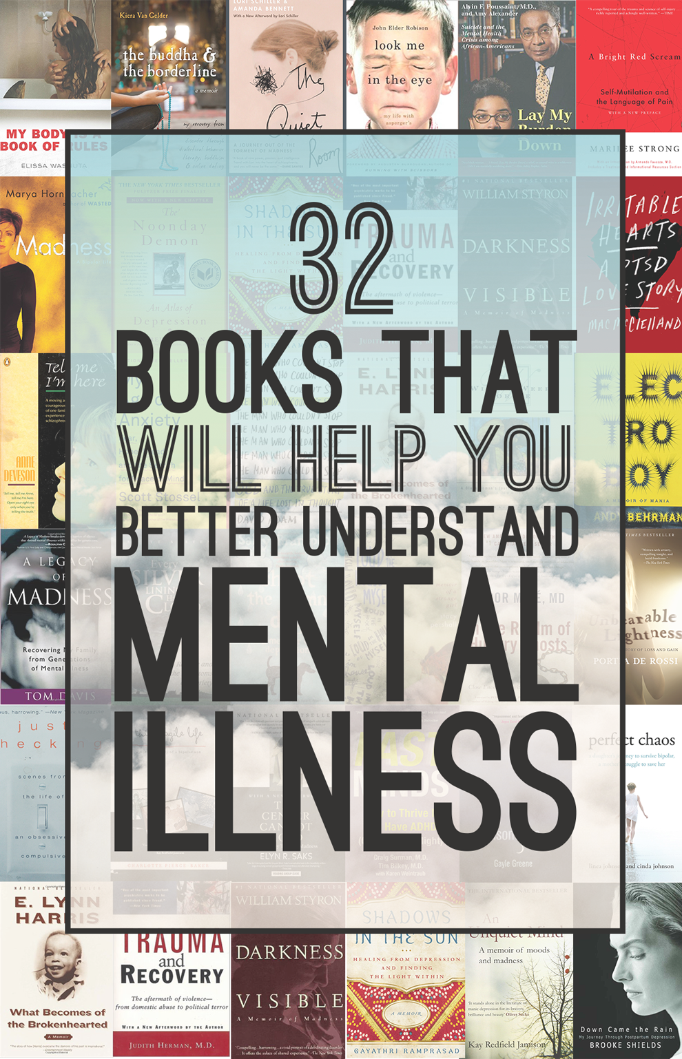 31 Books That Will Help You Better Understand Mental Illness And Disorders