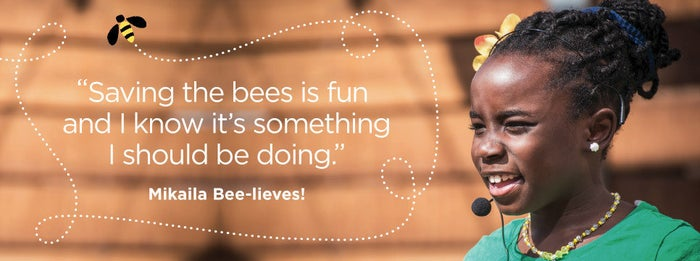 When Mikaila was 4 years old, she was thinking up ideas for the Acton Children's Business Fair and Austin's Lemonade Day. While thinking of ideas, she was sent a recipe book from her grandmother...and she was twice-stung by a bee. The bee stings led her to become fascinated with bees, and the cookbook included a great flaxseed lemonade recipe. She used these two events to create BeeSweet Lemonade™, which donates proceeds to help save bees and is available at a number of locations nationwide. Stay up to date with BeeSweet Lemonade™ on Facebook and Twitter.