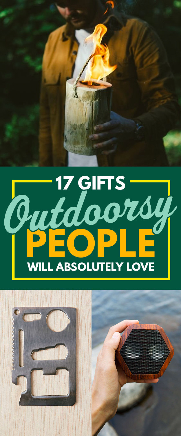 17 Gifts Outdoorsy People Will Absolutely Love