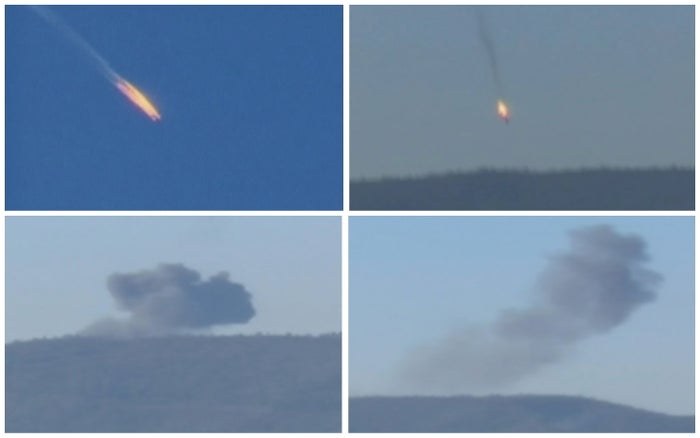 Turkey said it shot down a Russian fighter jet on Tuesday.