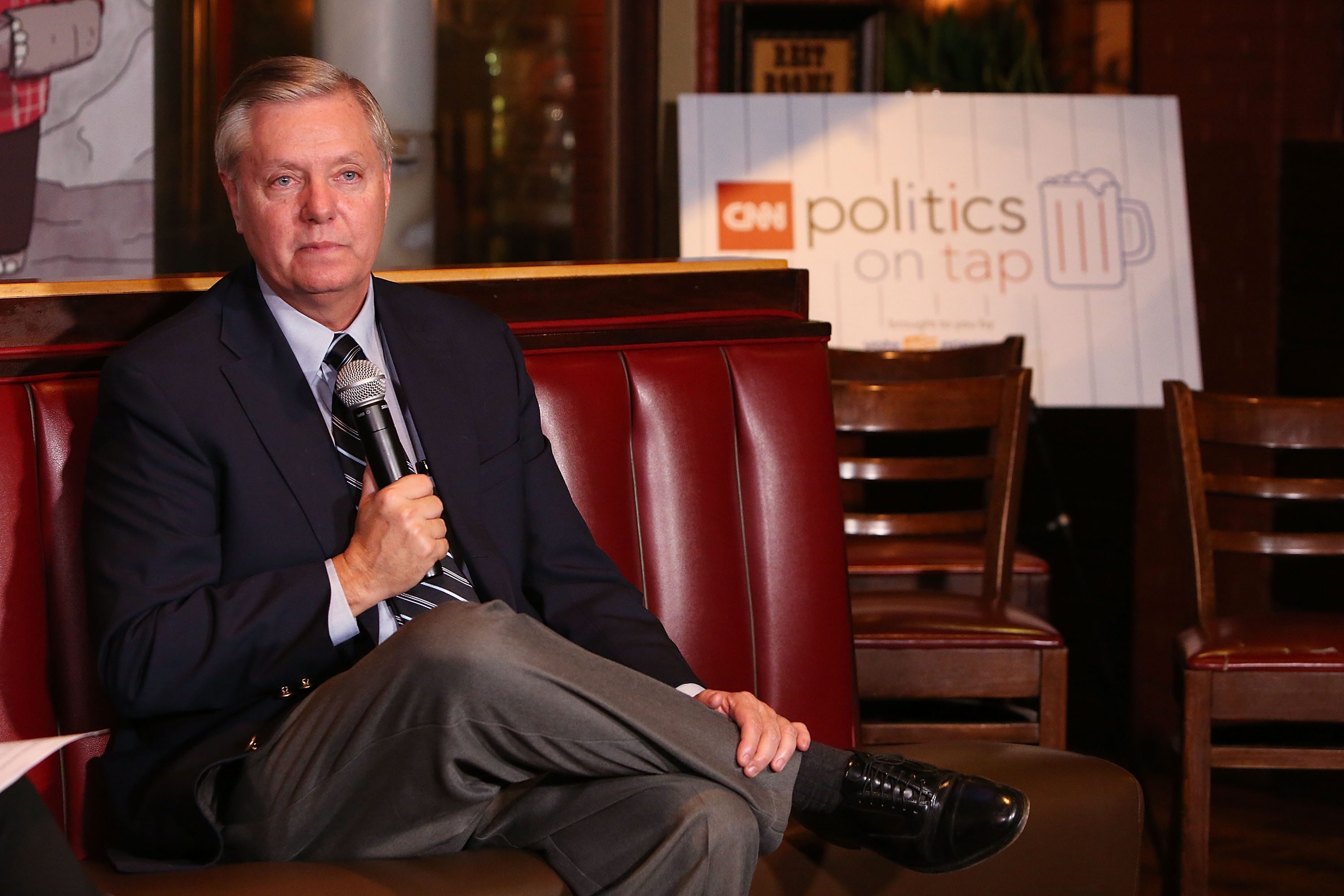 Lindsey Graham: If We'd Listened To McCain, Paris Attacks Wouldn't Have Happened