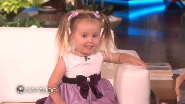 This 3 year old knows way more about the periodic table than you she was a guest on the ellen degeneres show on monday when ellen asked if urtaz Gallery