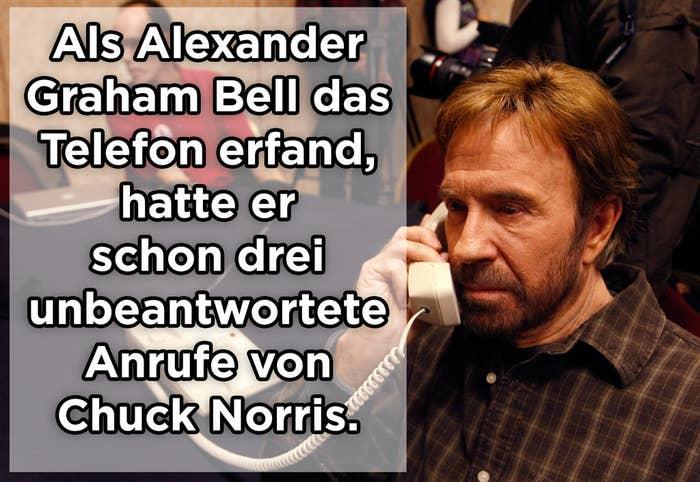 Chuck Norris Witzte