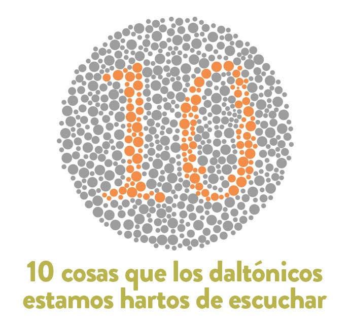 10 frases que los daltónicos estamos hartos de escuchar
