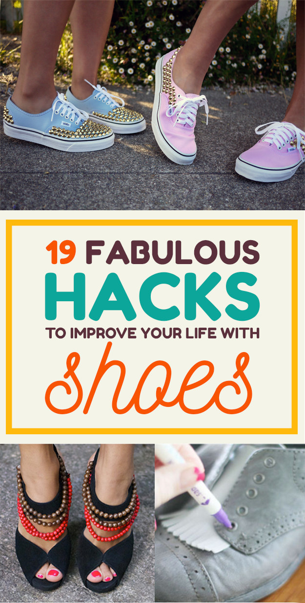 19 Fabulous Hacks To Make Your Shoes Look And Fit Perfectly Every Time
