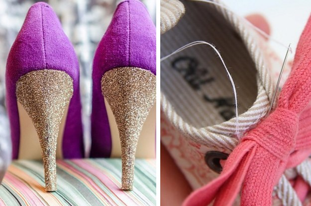 18a6a135c7da 19 Fabulous Hacks To Make Your Shoes Look And Fit Perfectly Every Time