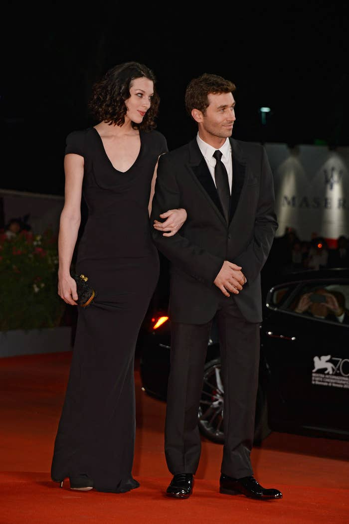Stoya and James Deen in Venice, Italy, on Aug. 30, 2013.