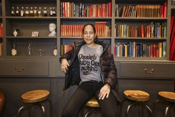 Gina Prince-Bythewood photographed at the BFI in October