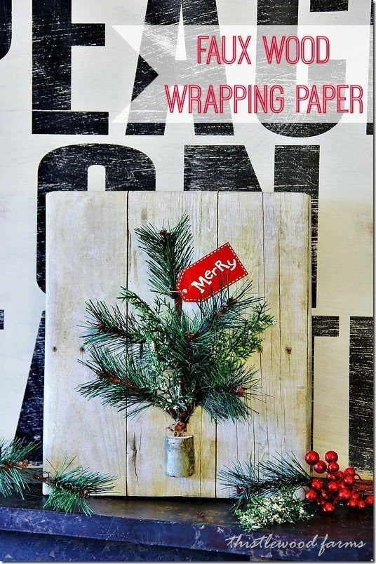 You can even add some fun accents — like pine branches and holly leaves — on your own. Find out more at Thistlewood Farms.