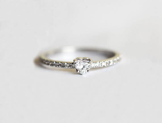 watch delicate ring in wedding rings band carat engagement hqdefault cushion thin diamond