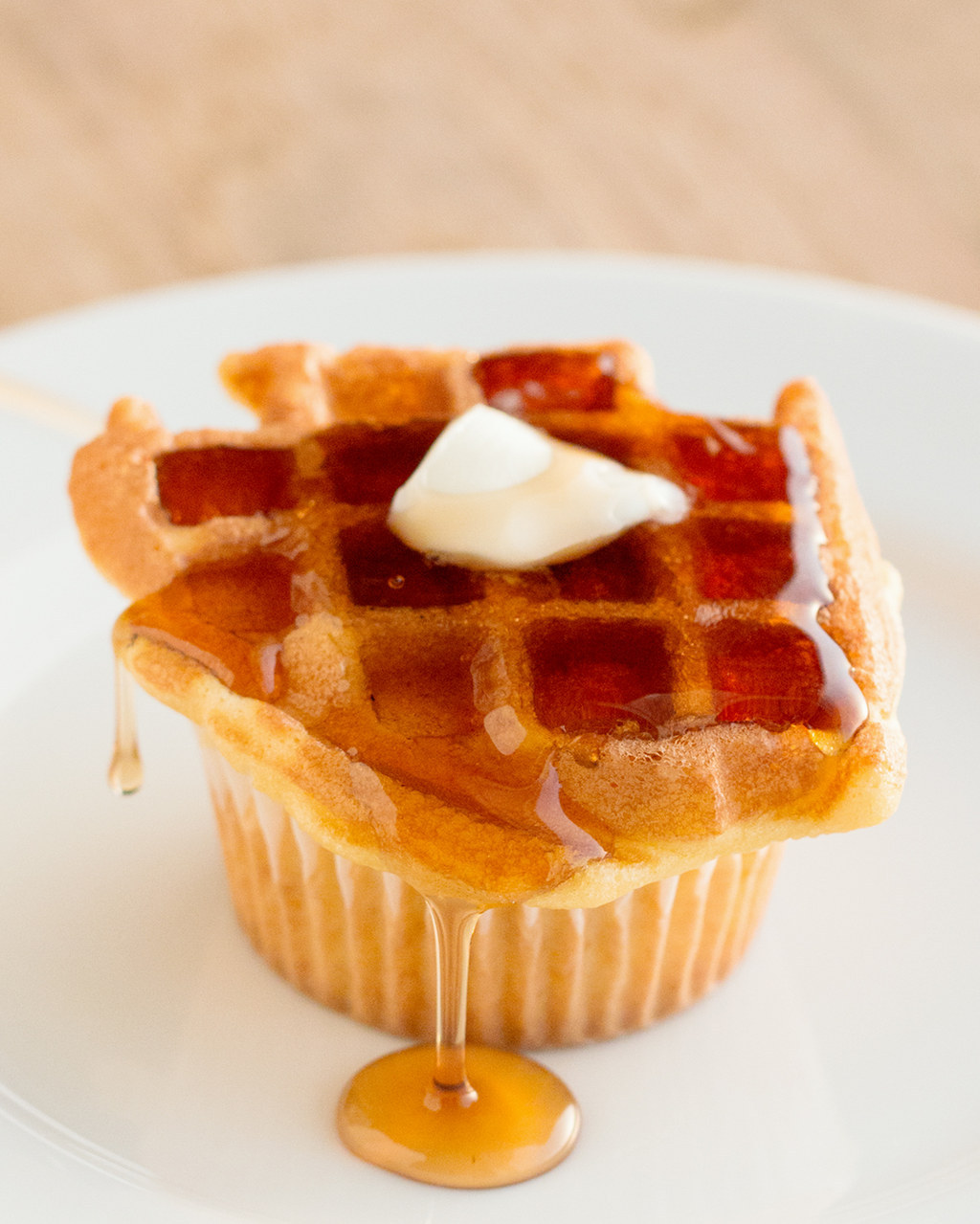 Here's What Waffle Cupcakes Look Like And They Are Just Heavenly