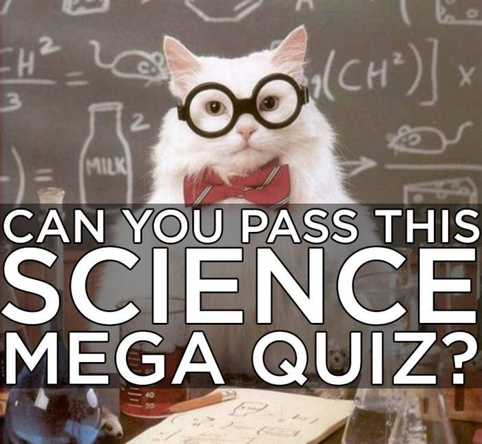 The Hardest Science Quiz You'll Take Today