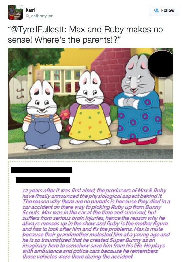 These People Tried To Figure Out Where Max And Ruby S