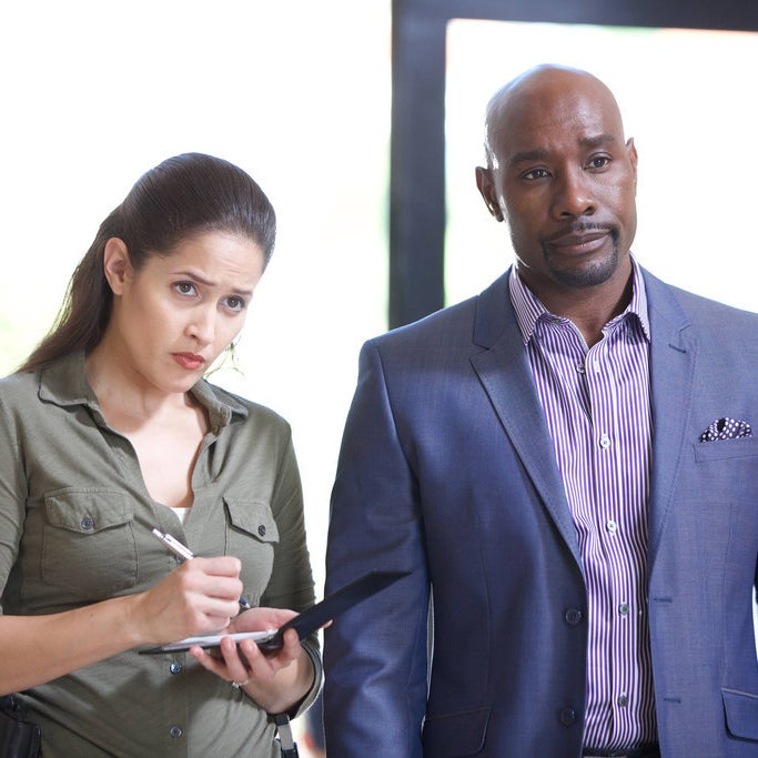 Jaina Lee Ortiz and Chestnut in Rosewood.