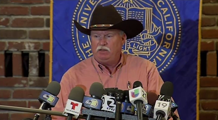 Merced Sheriff Vern Warnke