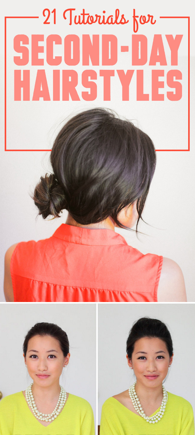 21 Second,Day Hairstyle Tutorials