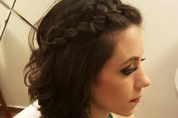 Penteados simples para cabelos curtos - Com tranças