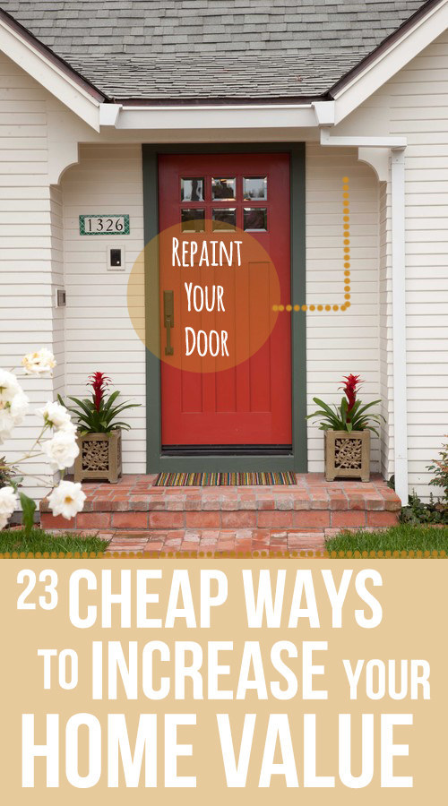 Share On Facebook Share ... & 23 Cheap Upgrades That Will Actually Increase The Value of Your Home