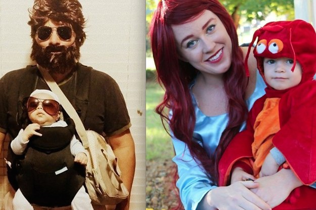 25 Family Halloween Costumes That\'ll Convince You To Have Kids