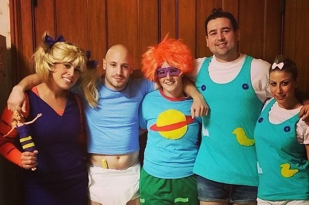 9 rugrats - Good Halloween Costumes For Big Guys