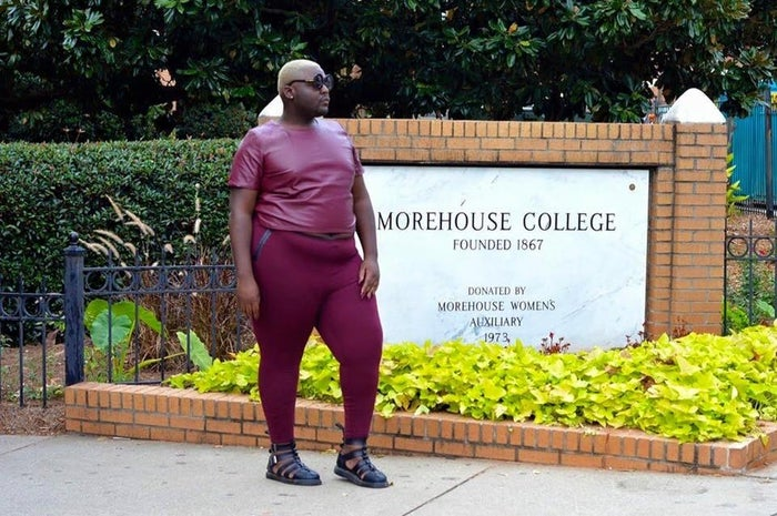 Morehouse graduate Jamal Lewis returns for Homecoming.