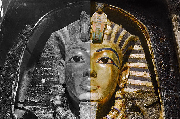 King Tut Tomb Discovery: Awesome Photos Of The Discovery Of Tutankhamun's Tomb Have