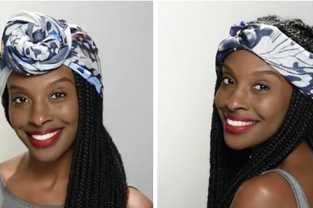 Five Ways To Tie A Scarf When Your Hair Is Not On Fleek
