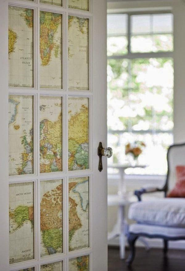 Как украсить двери своими руками фото