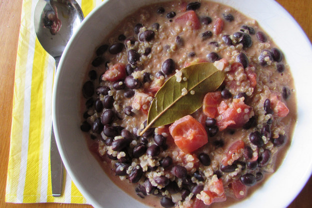 Coconut Black Bean Stew