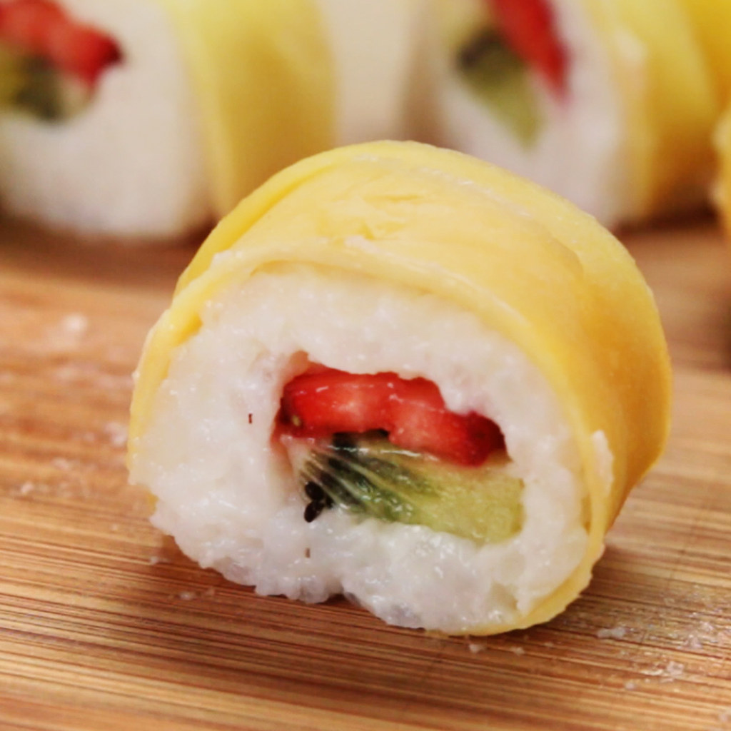 This Recipe For Fruit Sushi Will Blow Your Mind