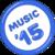 Best of Music 2015 badge