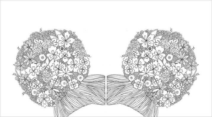 Heres A Look Inside This Adult Coloring Book About The Beauty Of