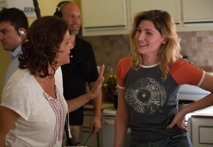 Alexandra Billings and Trace Lysette.