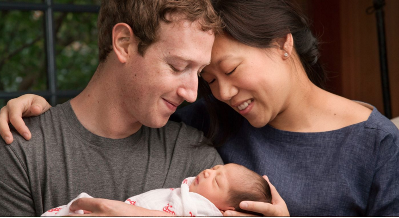 Mark Zuckerberg Has Baby And Says He Will Give Away 99% Of His Facebook Shares