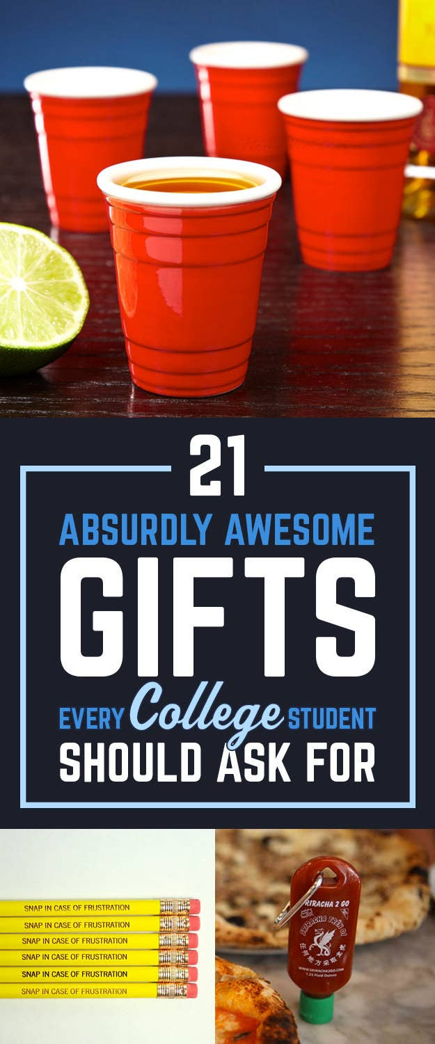 Christmas Gifts For College Students.21 Ridiculously Cool Gifts College Students Never Knew They