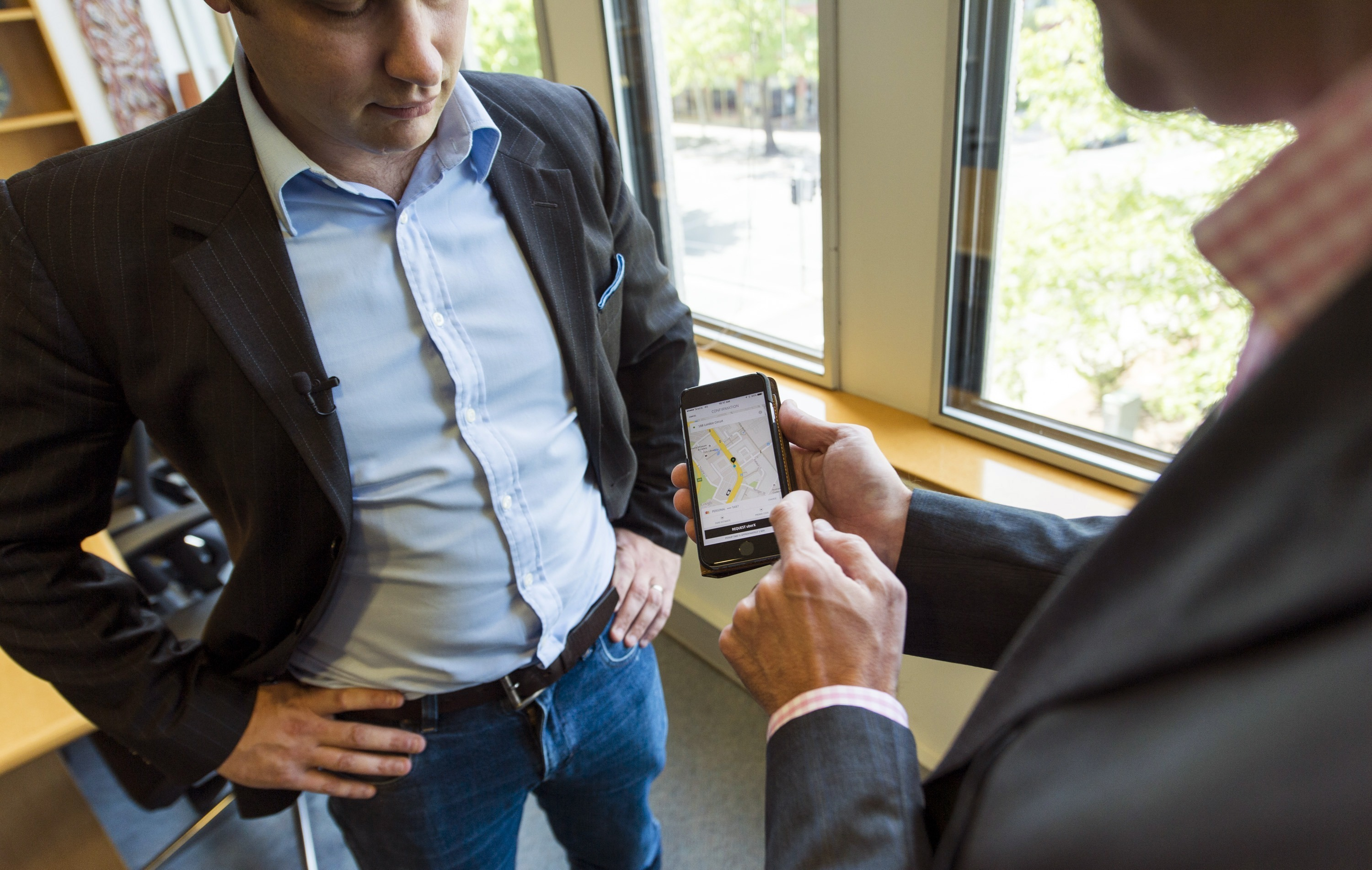 Uber Gives App Makers A Ride Request Button