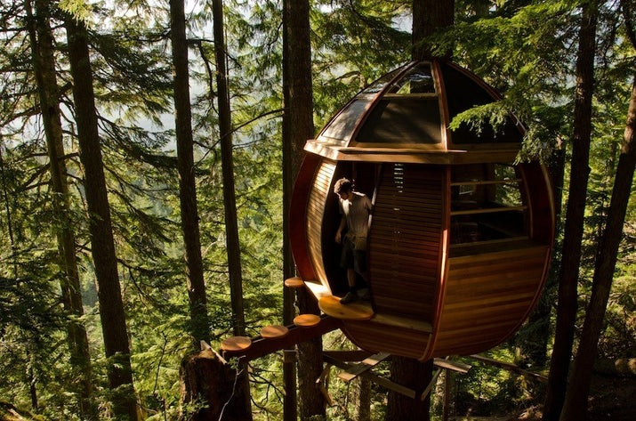 Famous Tree Houses the most famous and magical treehouse in canada you didn't know about