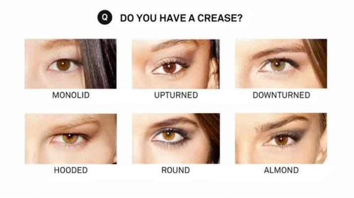 Eye makeup for almond eyes