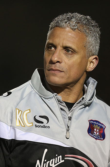 Keith Curle - Manager of Carlisle