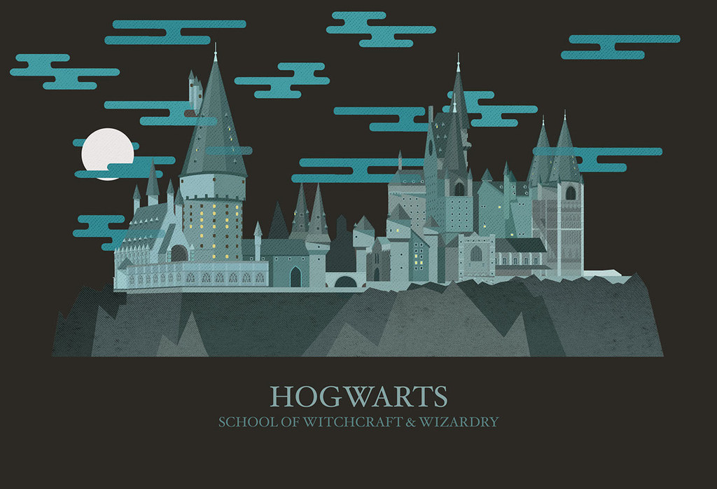 """These Illustrations Of """"Harry Potter"""" Locations Are Magical"""