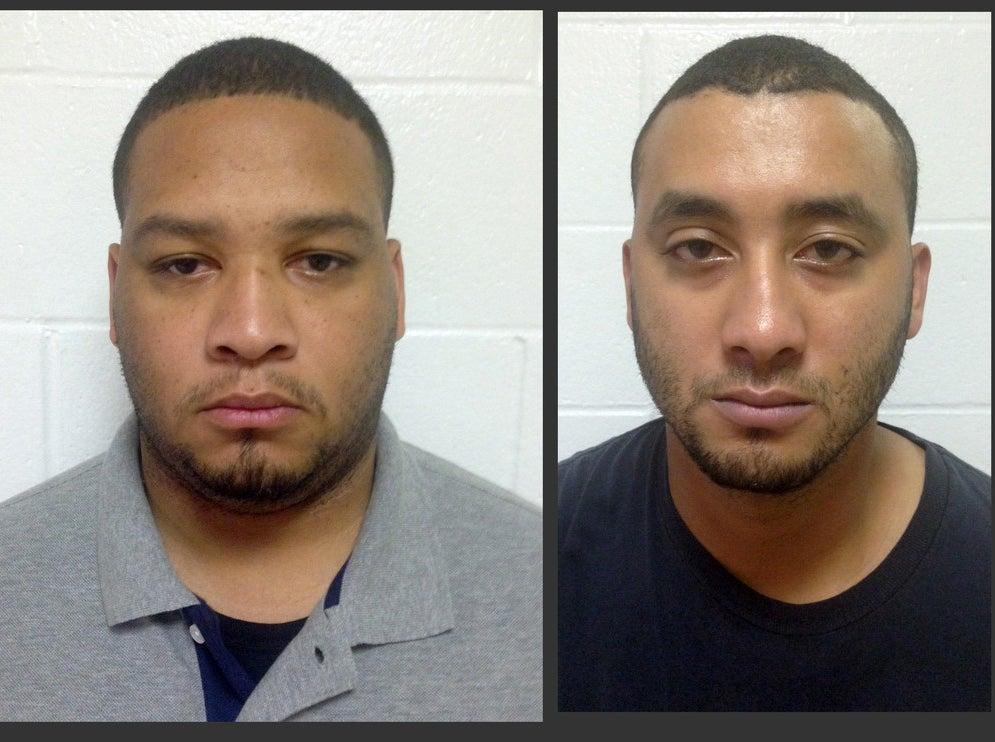 Derrick Stafford, left, and Norris Greenhouse Jr.