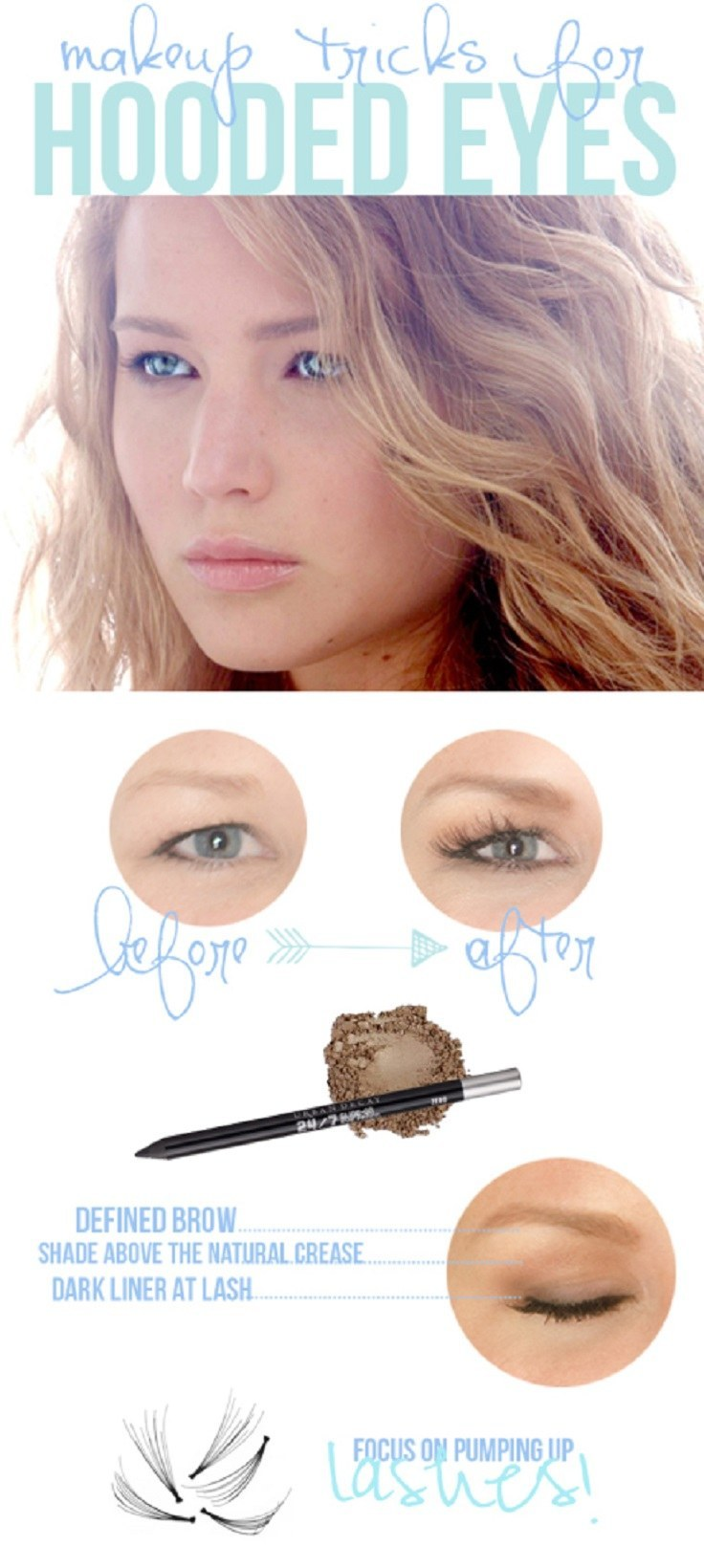 Amazing Makeup Ideas To Make Your Hooded Eyes Pop pics