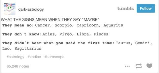 32 Times Tumblr Truly Nailed Your Star Sign In 2015
