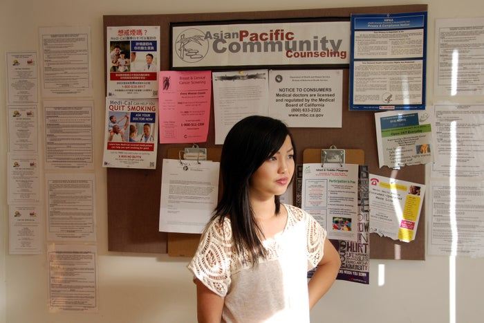 Pangcha Vang at the Transcultural Wellness Center in Sacramento.