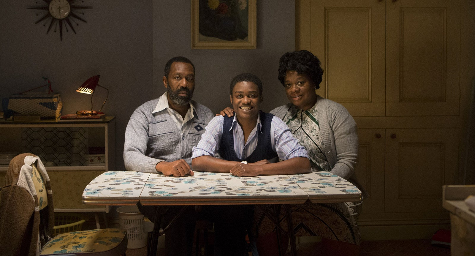 Lenny Henry, Kascion Franklin and Cecilia Noble in Danny and The Human Zoo